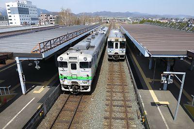 日本最長距離普通列車2427D(富良野駅)
