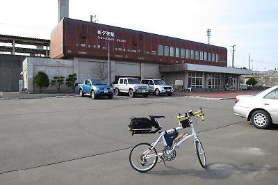 石勝線(新夕張―追分)列車代行自転車 by DAHON DASH X20