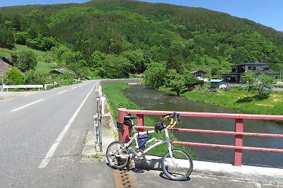 北上山地越え・馬淵川ツーリング(二戸・小本)by DAHON