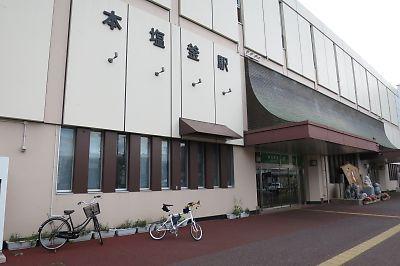 JR気仙沼線(柳津線)駅巡りby DAHON dash x20