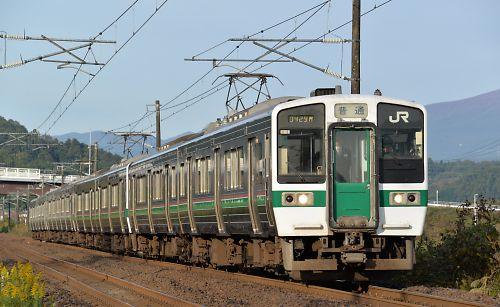 719系8連(東北本線/大河原・北白川間)
