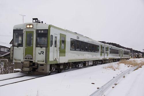 キハ110系3連(花輪線・東大更-大更)