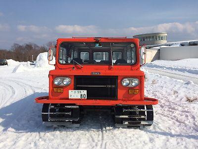 中型雪上車(SM30型)・ハイルザーム栗駒