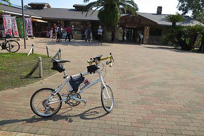 自転車で伊豆大島一周(DAHON DASH x20)