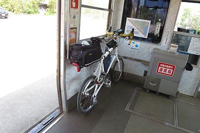 自転車持参で一畑電鉄を乗りつぶし