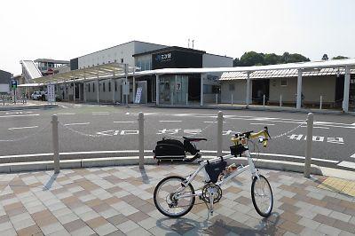 三江線駅巡りツーリング(その1/三次駅→粕淵駅)
