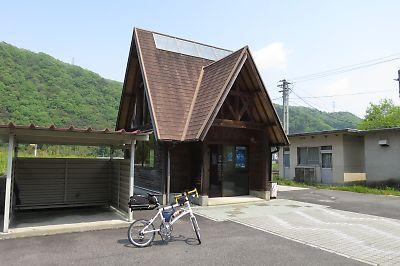 三江線・式敷駅