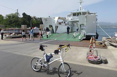 気仙沼大島一周ツーリングby ダホン DASH X20