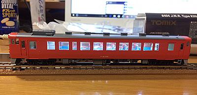 Tomix製キハ40-500