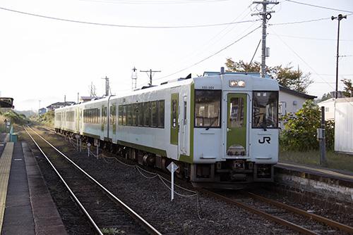 磐越東線725D(磐城常葉駅)