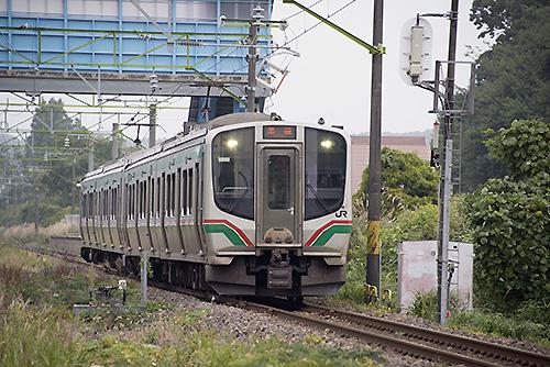 E721系(東北本線・白坂駅)