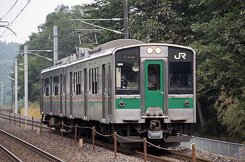 701系(豊原―白坂間)