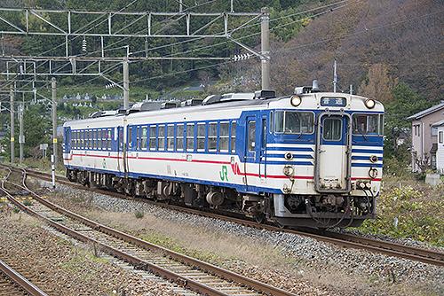 824D羽越本線キハ48(鼠ヶ関)