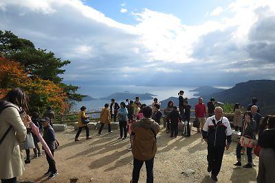 【自転車】小豆島一周[その2](土庄港→北回り→福田港)+寒霞渓ツーリング