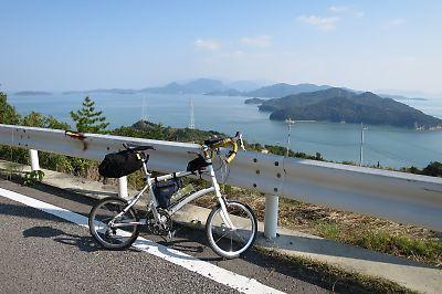 瀬戸内海のアートの島・豊島一周ツーリング