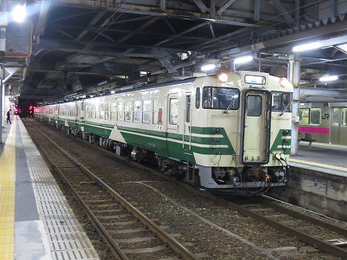 キハ40系(秋田駅)