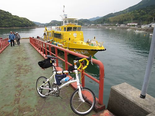 五島列島・久賀島ツーリング by Dahon Dash X20