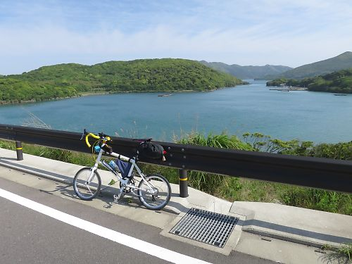 五島列島・福江島一周+鬼岳ツーリング by DAHON X20