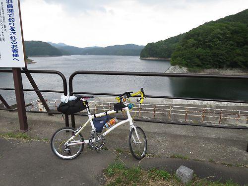 奥羽山脈・羽鳥湖越えツーリング by dahon DASH X20
