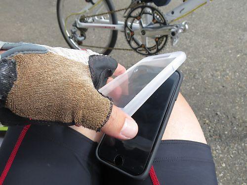 TiGRA Sport製  iPhone7/8用サイクルマウントホルダー