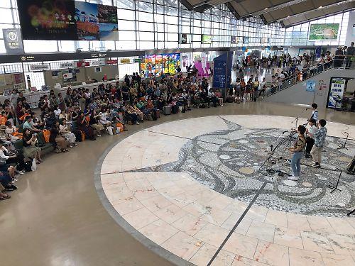 新潟空港台湾イベント