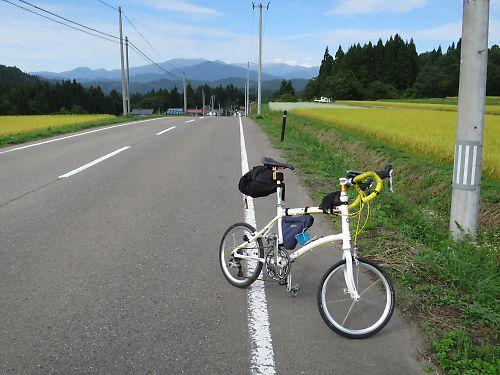 只見線列車代行自転車(只見→野沢)DAHON Dash X20