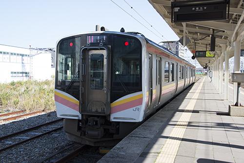 越後線147M(柏崎駅)
