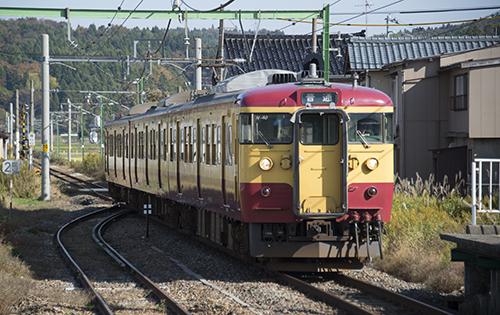 越後線140M(小島谷駅)