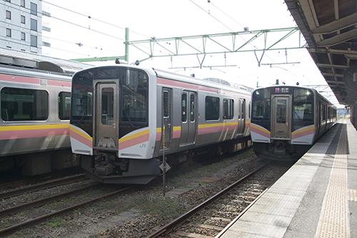 越後線147~153M(吉田駅)