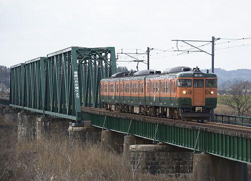 越後線115系(分水―寺泊)