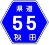 秋田県道55号