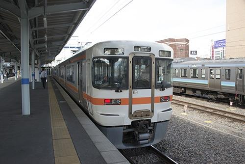 飯田線乗り入れ216M(松本駅)