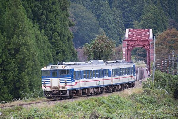 磐越西線・鹿瀬-日出谷