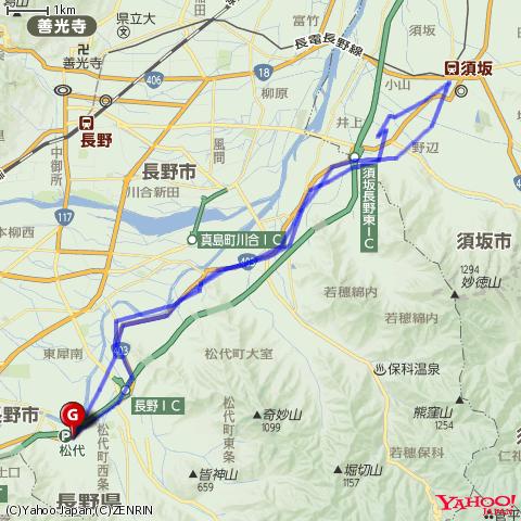 長野電鉄屋代線の駅めぐり&撮り鉄<その2>松代-須坂