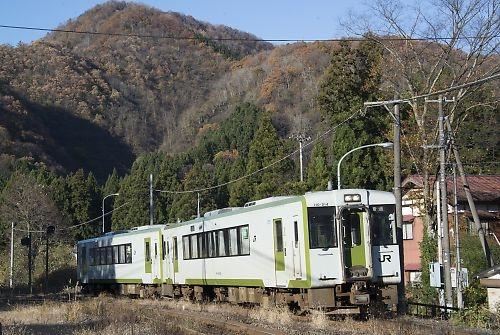 磐越西線・五十島駅