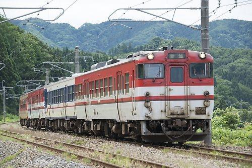 羽越本線825D(羽前水沢-三瀬)