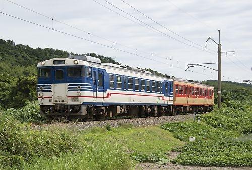 羽越本線827D(越後早川-間島)