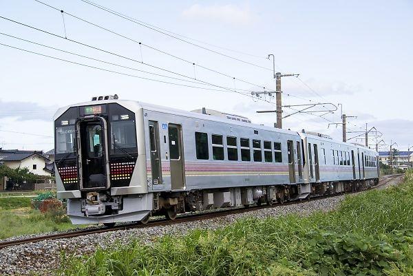 羽越本線(間島-越後早川)