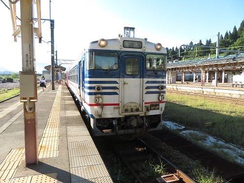 第2回・六十里越ツーリング(大白川駅→野沢駅)