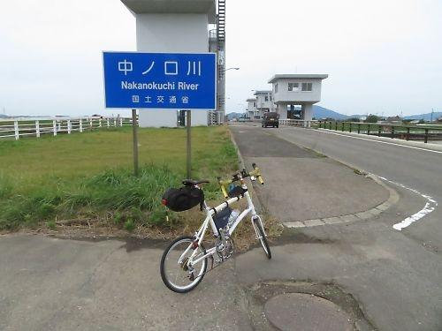 信濃川左岸ツーリング(新潟→小千谷)by ダホン