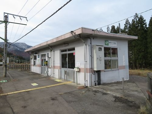 上越線・岩原スキー場前駅