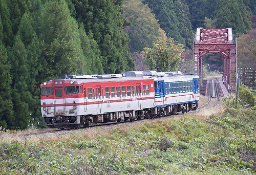 磐越西線223D(鹿瀬-日出谷)
